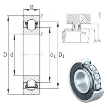 10 mm x 30 mm x 9 mm  INA BXRE200-2RSR needle roller bearings