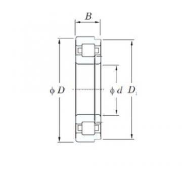 95 mm x 200 mm x 45 mm  KOYO NUP319R cylindrical roller bearings