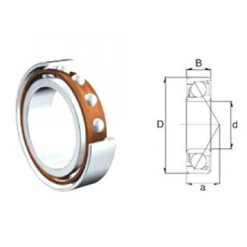 10 mm x 30 mm x 9 mm  ZEN 7200B-2RS angular contact ball bearings